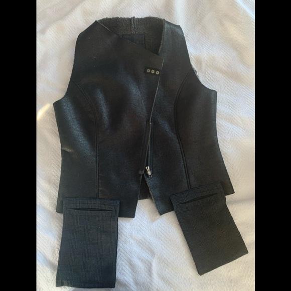 NOR Denmark faux shearling vest